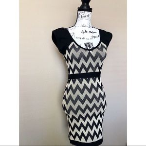 WOW Couture Black and White Mini dress